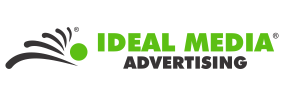 IDEAL MEDIA ADVERTISING Sticky Logo Retina